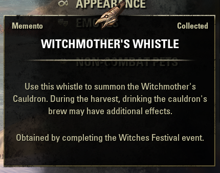 Witchmothers Whistle