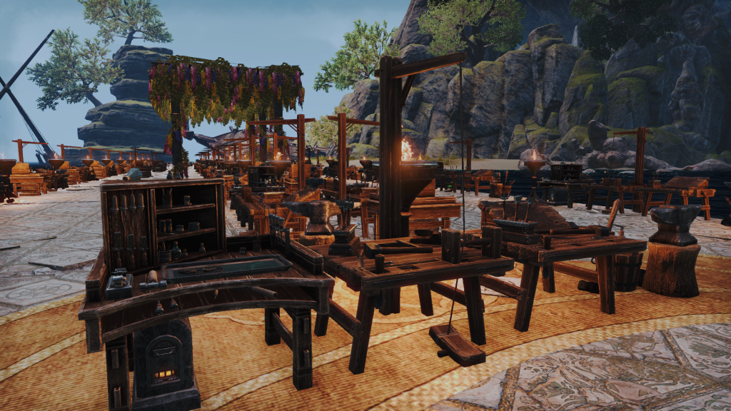 ESO Crafting Stations