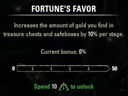 Fortune's Favor ESO
