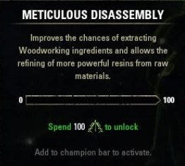 Meticulous Disassembly ESO
